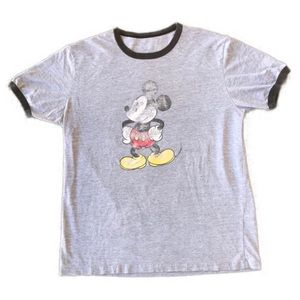 Classic Mickey Mouse ringer t shirt
